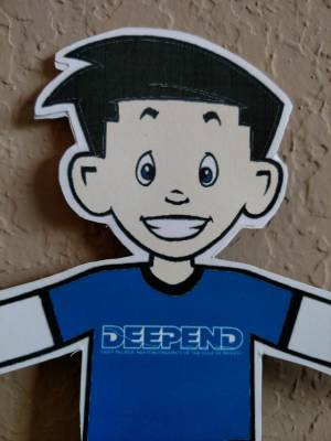 A new member to the DEEPEND Team - Meet Flat Stanley!